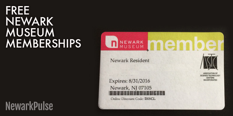 Free Newark Museum Membership for Newark Residents