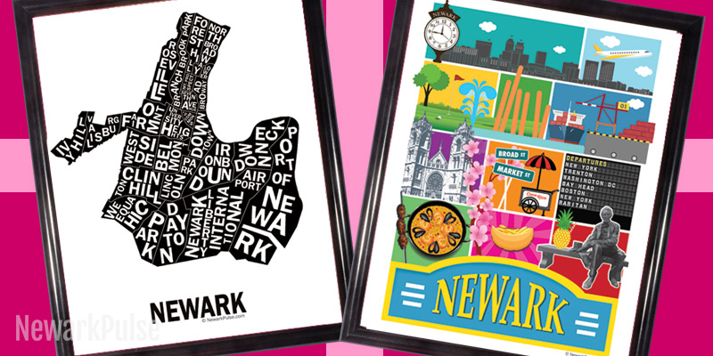 Shop Local for the Holidays 2016: Newark Posters