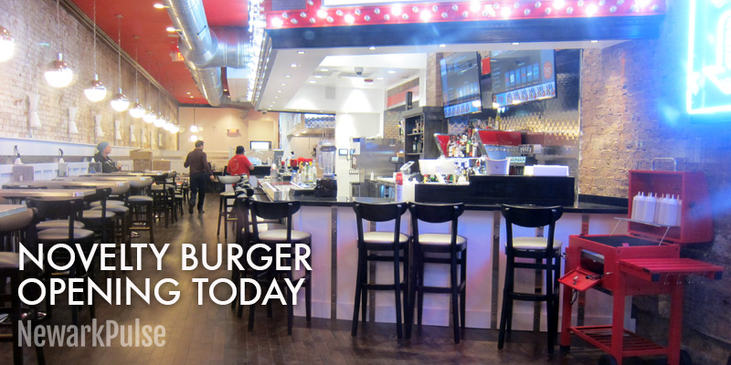 Novelty Burger Opens Today