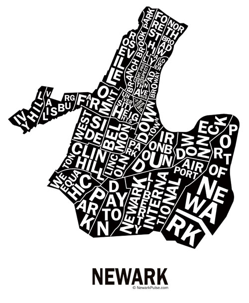 Neighborhood Map of Newark