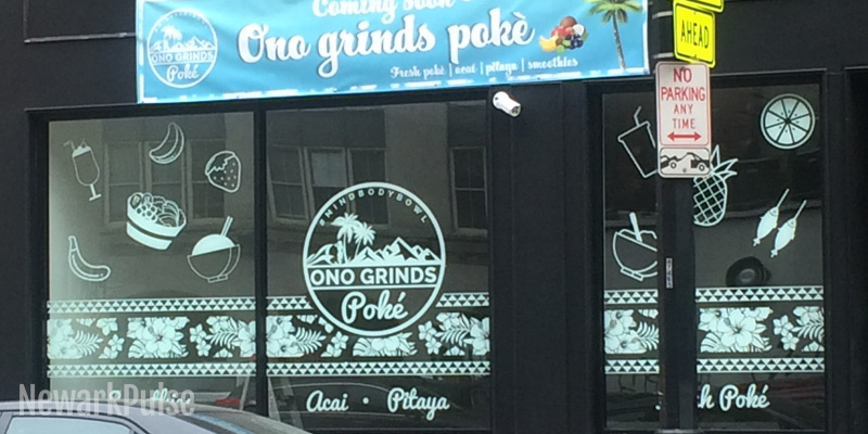 Sign of the times: Ono Grinds Poke