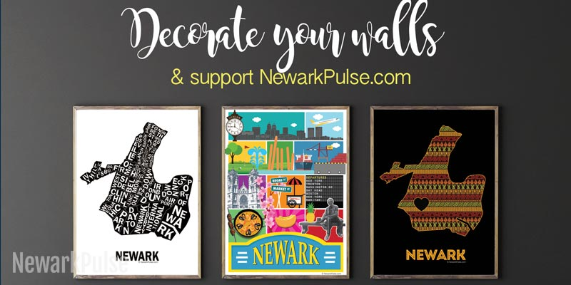 Newark Neighborhood map and posters