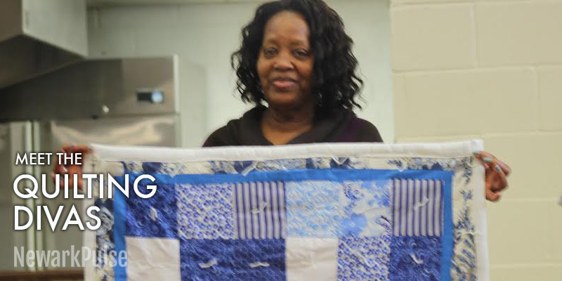 Quilting Seniors at Weequahic Park