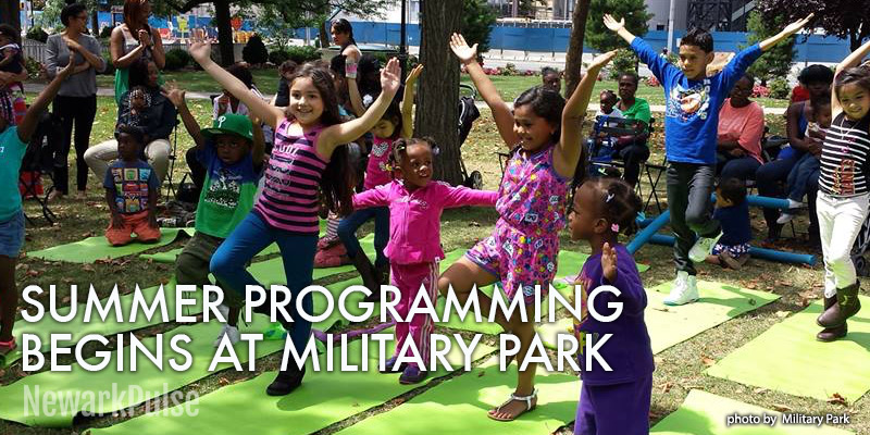 Summer Programming Kicks Off at Military Park