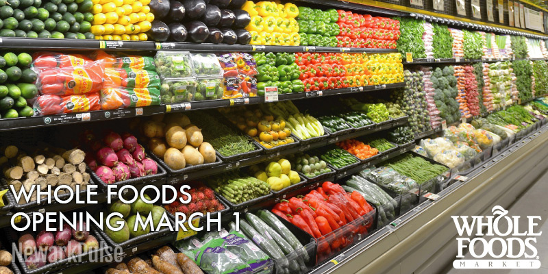 Whole Foods Opening March 1